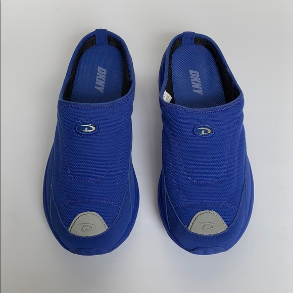 Dkny Shoes - DKNY Electric Blue Slip On Sneakers